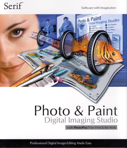 Serif Photo & Paint Digital Imaging Studio with PhotoPlus 7 -