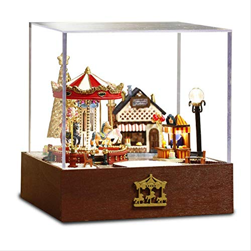 Diy Carosello Carillon, Confezione Regalo Di Natale Insolito Fatto A Mano, Musica Carosello Accessori Per La Casa Carosello Decorazione Del Partito