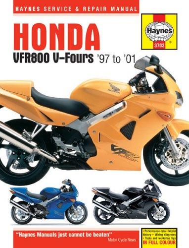 Honda VFR800 V-Fours 1997-2001: 1997 to 2001 (Haynes Manuals)