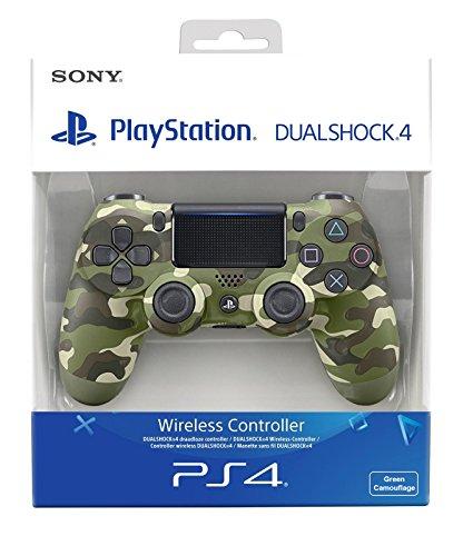 Import Cee - Mando Dualshock 4, Color Verde Camouflage - Reedición (PS4)