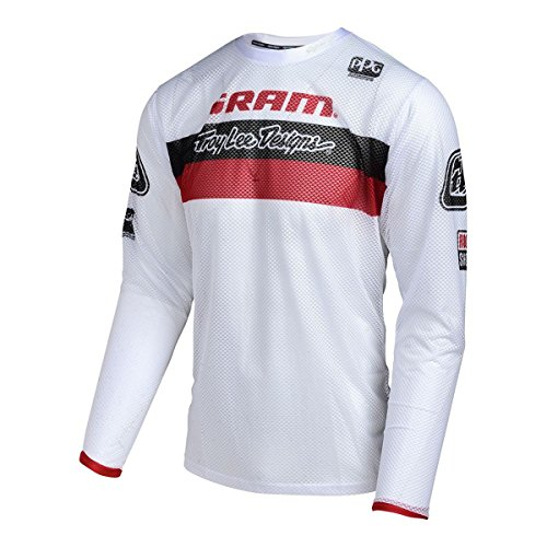 troy-lee-designs-sprint-air-sram-tld-maillot-manches-longues-racing-rouge-blanc-modele-l-2017-tee-sh