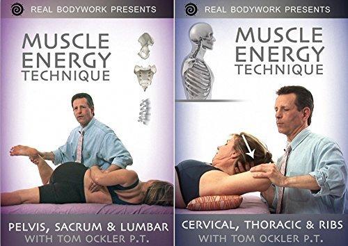 Preisvergleich Produktbild Muscle Energy Techniques Medical Massage Video 2 DVD Set - Volume 1 Pelvis Sacrum & Lumbar Back,  Volume 2 Cervical Neck,  Thoracic Spine & Ribs