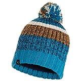 Buff Knitted & Polar Fleece Hat STIG Größe one Size Teal Blue