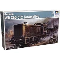 Trumpeter TSM-216 - German WR360 C12 Armored Locomotive, escala 1:35