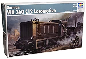 Trumpeter TSM-216 - German WR360 C12 Armored Locomotive, escala 1:35