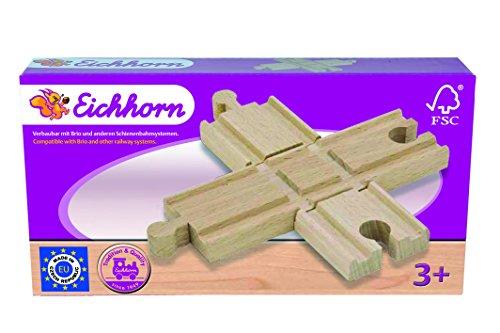 eichhorn-100001403-bahn-kreuzung-2-teilig-12cm-buchenholz-verbaubar-mit-nahezu-allen-schienenbahnsys