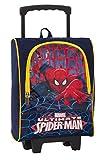 Trolley small scuola asilo bambino Marvel - Ultimate SPIDERMAN - con Pennarelli, matite colorate ecc.. uomo ragno spider-man