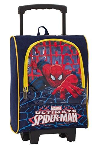 Seven Trolley Small Scuola Asilo Bambino Marvel - Ultimate Spiderman - con Pennarelli, matite Colorate ECC. Uomo Ragno Spider-Man