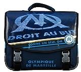 Olympique de Marseille Cartable Mixte Enfant, Bleu, 41 cm
