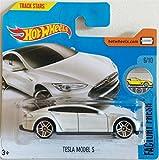 Hot Wheels 2017 Factory Fresh Tesla Model S White 175/365 (Short Card)