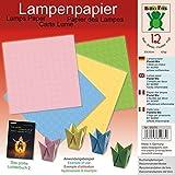 Lampenpapier Pastell Mix 30 x 30 cm: Papier für Bücher: Das große Lichterbuch 2 (ISBN 978-3-938127-20-9), Das große Lichterbuch (ISBN 978-3-938127-03-2) (Origami Lichter falten aus Lampenpapier)