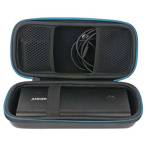 Für Anker Astro E7 Ultra Hohe Kapazität 26800mAh Externer Akku USB 26800 Batterie Ladegerät Powerbank Hart Reise Tragetasche Tasche von Markstore