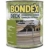 Bondex Öl Deck: Terrassen und Korkböden Farbe Teak 0.75l.
