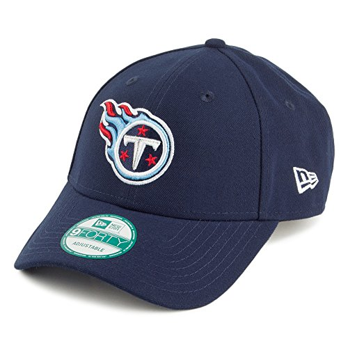 New Era 9FORTY Tennessee Titans Baseball Cap - NFL - The League - Marineblau - Einstellbar