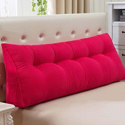 Creative Light-Kissen Doppelbett Kissen Kissen Kissen Sofa große Rückseite weiche Tasche Bett Lendenwirbelstütze (Farbe : D, größe : 200cm)