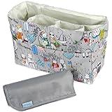 Best Bottom Diapers Inserts - KF Baby Diaper Bag Insert Organizer Review