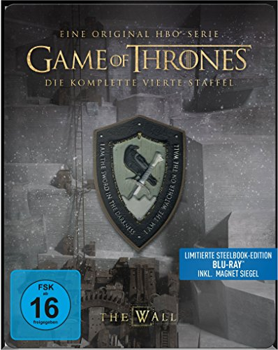 game of thrones steelbook staffel 3 Game of Thrones - Staffel 4 - Steelbook [Blu-ray] [Limited Edition]
