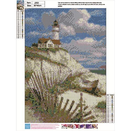 Sunnay Diamond Painting 30 x 30 cm Set Completo per dipingere 5d