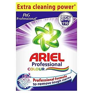 Ariel Colour Professional Detergent Powder, 7-15kg, 110 Loads