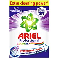 Ariel Professional - Detergente en polvo para prendas de color, 110 lavados, 7 kg