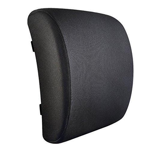 Lordosenstütze Kissen von Jaido - 100% Memory Foam Kissen, Ergonomische Rückenstütze Kissen ideal für Bürostuhl, Autositz, Sofa, Sessel, Rollstühle, Reisen. orthopädisches Kissen, das hilft, Rückenschmerzen, Ischias, Bandscheibenvorfall zu lindern und zu verhindern.