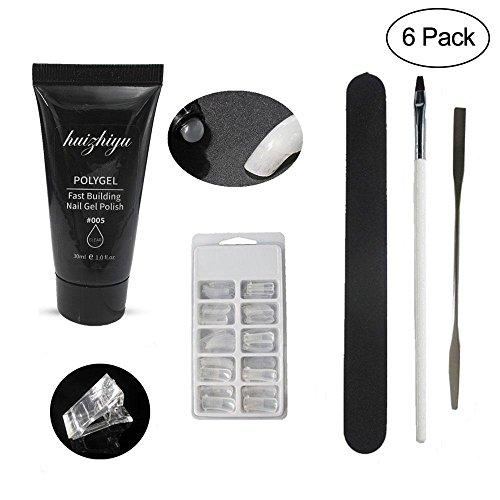 AOLVO Nuevo Kit de Gel de uñas Poly