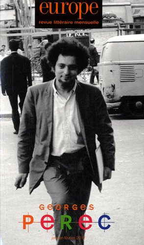 Europe, N° 993/994, Janvier- : Georges Perec
