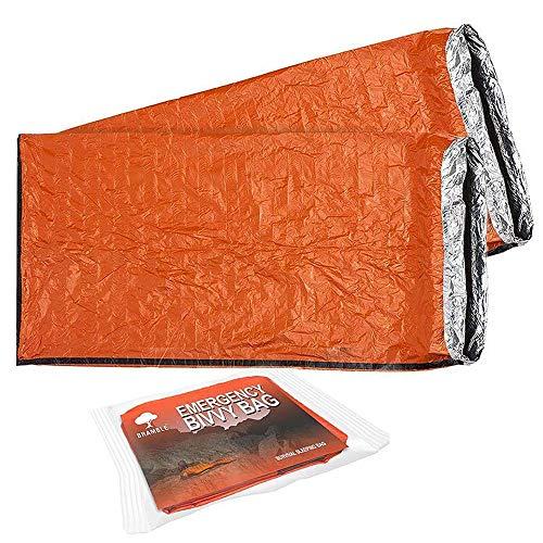 2 Premium Saco de Dormir de Emergencia