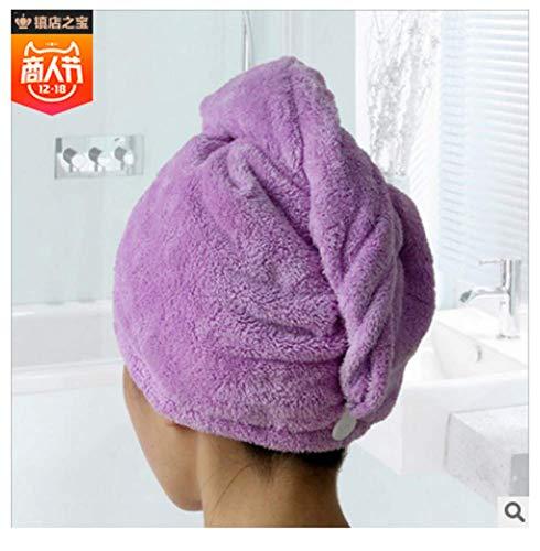 Saugfähiges Haarturban-Handtuch, weiches Trockentuch für alle Haartypen und -längen Für alle Haartypen und -längen -