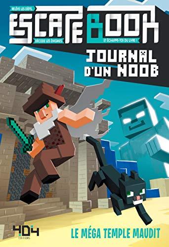 Journal d'un Noob – Escape book – Le méga temple maudit