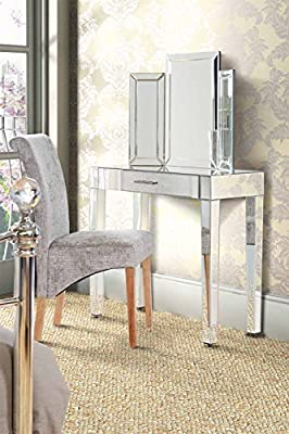 My furniture Luxury Mirrored Dressing Console / table ZOE