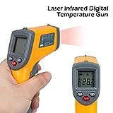 Senweit Termómetro Infrarojo Digital Láser sin Contacto Termómetro Pistola de temperature...