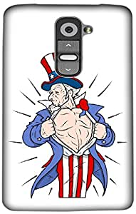 Timpax Light Weight One-piece construction Hard Back Case Cover Printed Design : An American Juggler.For LG G2 mini ( D618 )