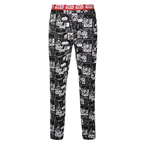 Ex UK Store Mens Pyjama Bottoms Star Wars Darth Vader Lounge Wear PJ Pants