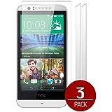 Zooky® x3 Films de protection d'écran pour HTC Desire 510