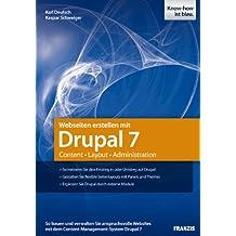 Webseiten erstellen mit Drupal 7 - Content - Layout - Administration