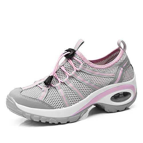 traspirante modo per in trekking scarpe in mesh trekking fare estivo ginnastica camminata Ladies di scarpe sportive da 7vBq78Yw