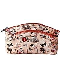 Haad Multifunctional Cosmetics Pouch cum Clutch Bag for Women - Peach