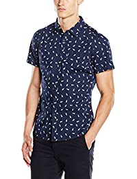 edc by Esprit 056cc2f012 - Modern Druck - Chemise Casual - Homme