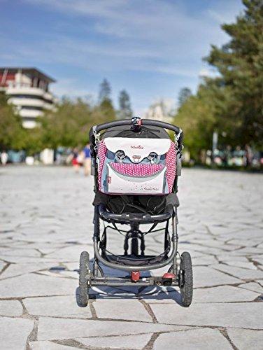 Babymoov Damen Wickeltasche Baby Chic, rot, A043510 - 3
