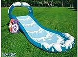 Intex–Zentrum-Spiele mit Spritzwasserschutz, Rutsche, 442x 168x 163cm (57469)