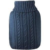 YUN Kleine Strickjacke, gefüllt mit Wasserheizsack Dicke Wassersack-Handwärmer (Farbe : Blau) preisvergleich bei billige-tabletten.eu
