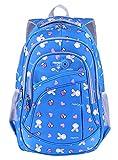 Unisex Schulrucksack Blumen Schulranzen Schultasche Sports Rucksack Freizeitrucksack Daypacks Backpack mit Großen Kapazität