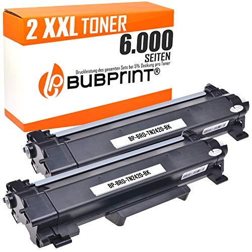 Bubprint 2Toner Compatibile Per Brother TN 2420TN 2420per DCP l2510d DCP l2530dw HL l2310d HL l2350dw HL l2370dn HL l2375dw MFC l2710dn MFC l2710dw