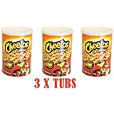 Cheetos Crunchy Dangerously Cheesy 120.4g Tub (Pack of 3)