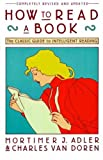 HOW TO READ A BOOK (REVISED AND UPDATED) BY ADLER, MORTIMER JEROME (AUTHOR) PAPERBACK (1972 )