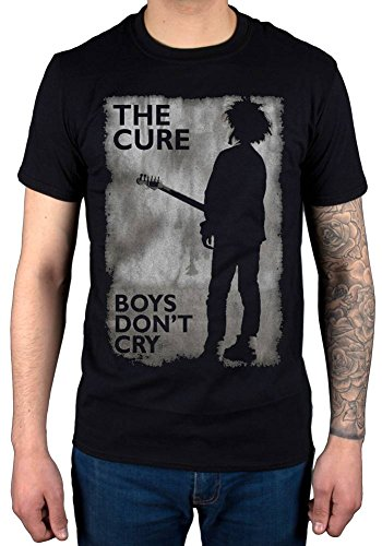 AWDIP Official The Cure Boys Don't Cry Black and White T-Shirt