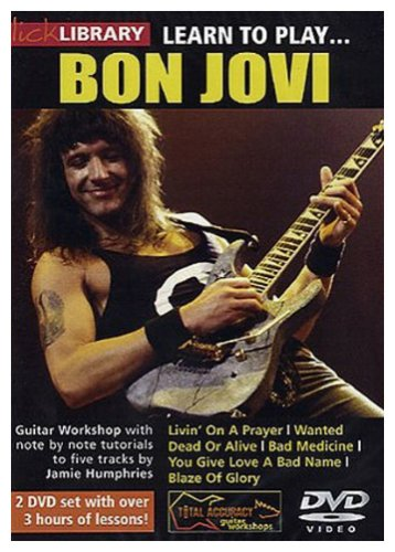 Lick Library - Learn to Play Bon Jovi. 2 DVD-Videos [UK Import]