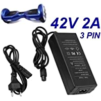 Cargador Corriente 42V 2A 2000mA 3 Orificios PIN 84W Cable Alimentacion