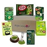 Japanese Matcha Green Tea Sweets and Snacks assortment gifts 7 pcs
